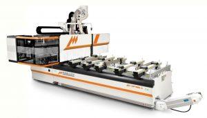 3 i 4 osiowe centrum obróbcze CNC  Busellato Jet Optima C21 XL